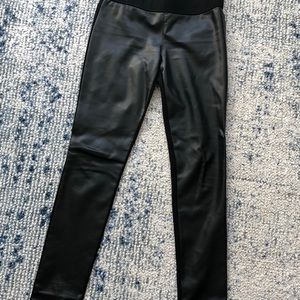 Club Monaco faux leather pant